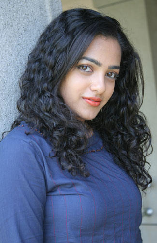 Nithya Menon Pink Lips Awesome Still