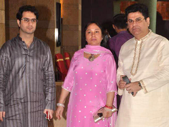Other Celebs at Dheeraj Deshmukh wedding reception