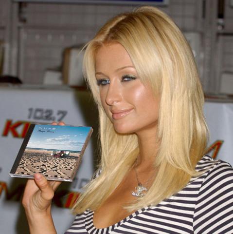 Paris Hilton Side Face Beauty Still