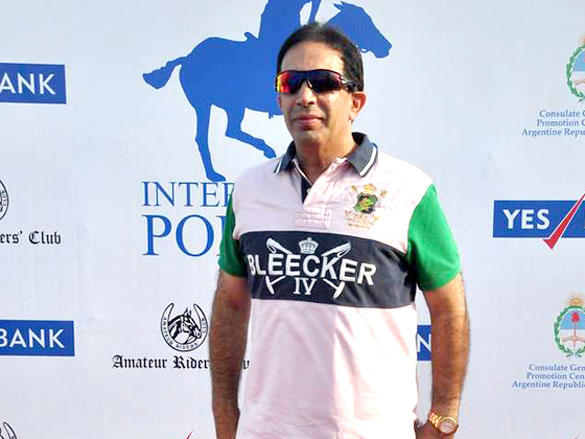 Parvez Damania at Argentine VS Arc Polo Match