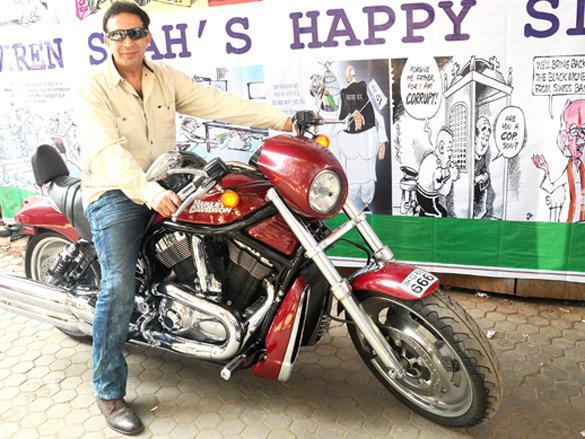Parvez Damania at Viren Shah's Happy Slappy party