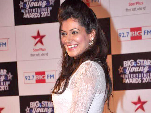 Payal Rohatgi at Big Star Young Entertainer Awards 2012