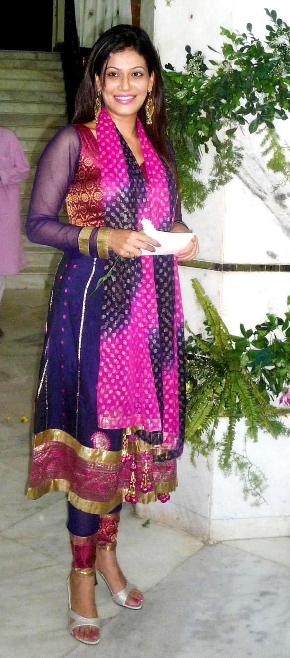 Payal Rohatgi at Iskcon Temple For Ram Navami Celebration