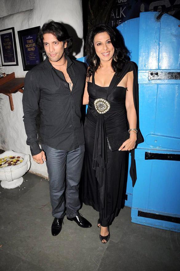 Pooja Bedi,Akashdeep at UTV Stars Walk Of The Stars After Party Event
