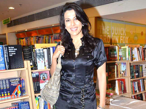 Pooja Bedi During The Launch of Kiran Manral's Book The Reluctant Detective