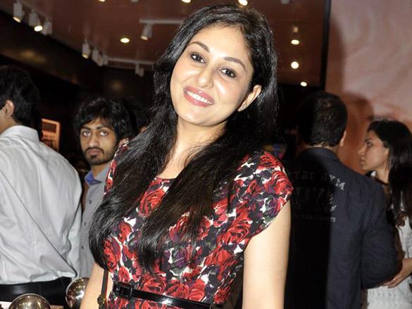 Pooja Chopra at La Senza store inauguration