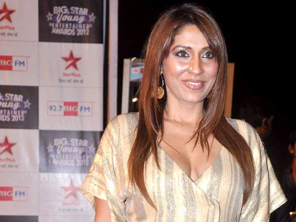 Pooja Mishra Glamour Still at Big Star Young Entertainer Awards 2012