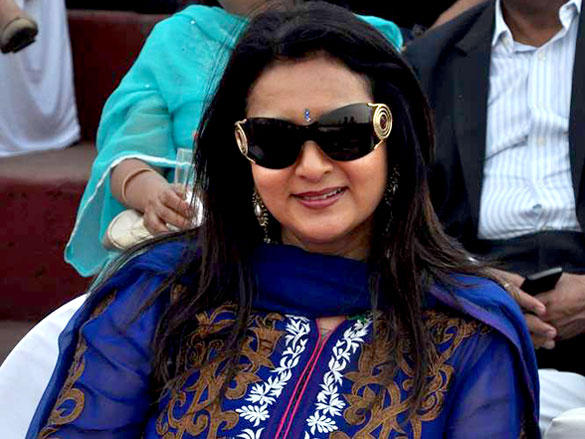 Poonam Dhillon During Argentine VS Arc Polo Match