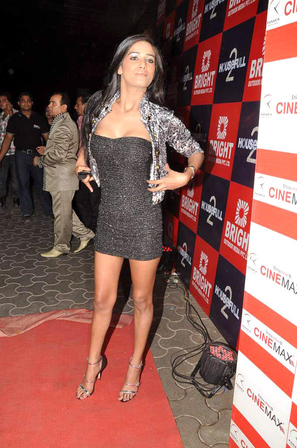 Poonam Pandey At Special screening of Housefull 2