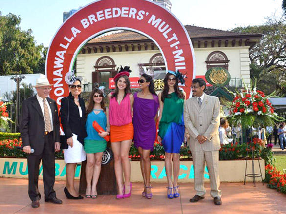 Poonawala breeders Multi Million race