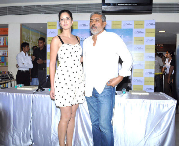 Prakash Jha and Katrina Kaif Spotted at The Launch Of The Book Rajneeti