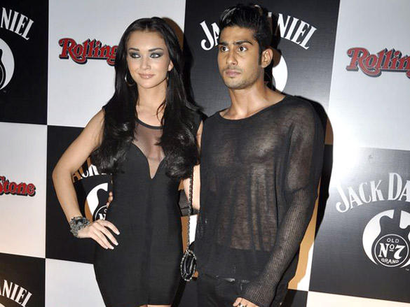 Prateik Babbar,Amy Jackson at 7th Jack Daniel's Annual Rock Awards