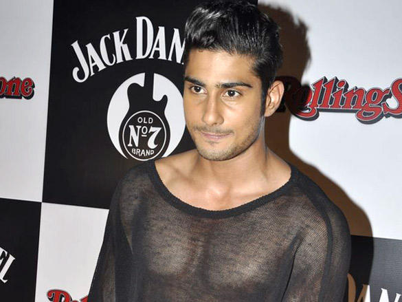 Prateik Babbar at Jack Daniels Rock Awards