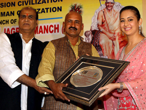 Preeti Jhangiani Launches The Film Vishwa Manav Jagran Manch