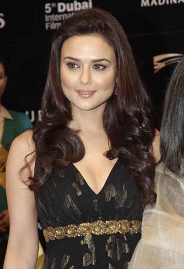 Preity Zinta Silky Hair Glam Face Still