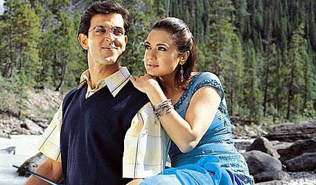 Preity and Hrithik In Koi Mil Gaya