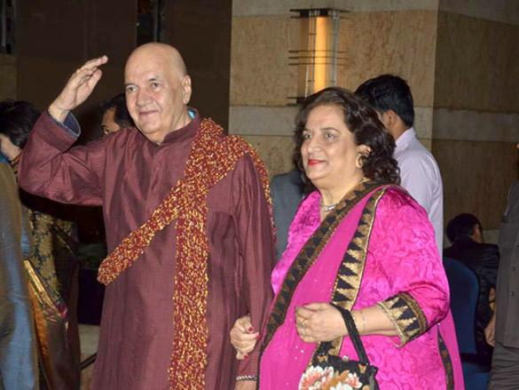 Prem Chopra at Honey Bhagnani's Sangeet  ceremony