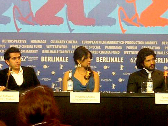Press conference of  Don 2 at 62nd Berlin International Film Festival