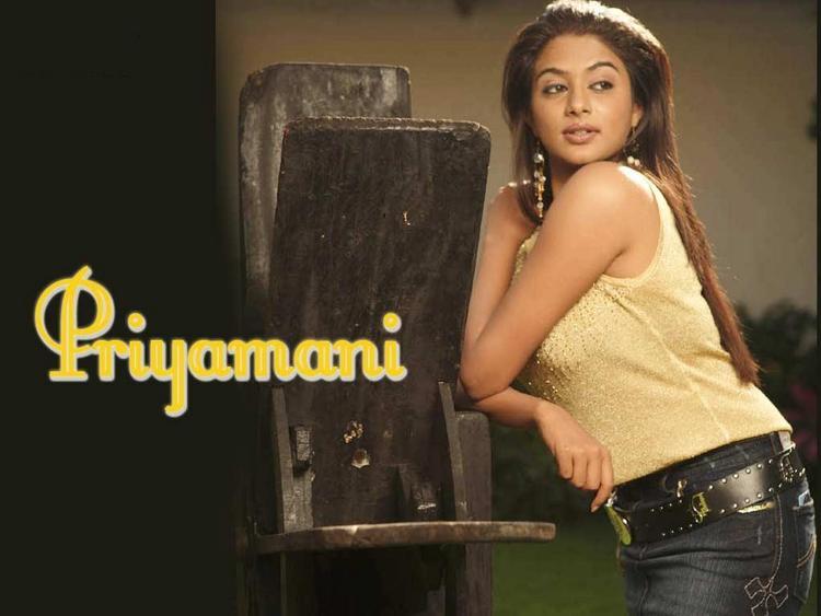 Priyamani Wallpaper Pic With Black Tight Jeans