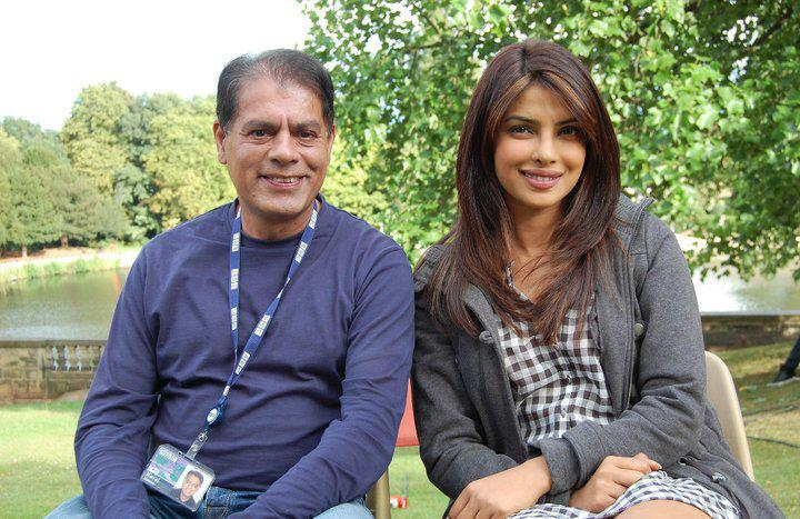 Priyanka Chopra On Sets Of New Movie Teri Meri Kahani