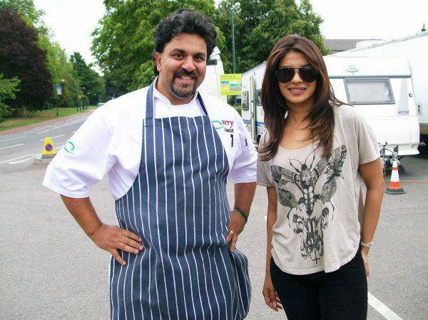 Priyanka Chopra Stunning Pic On Sets Of New Movie Teri Meri Kahani
