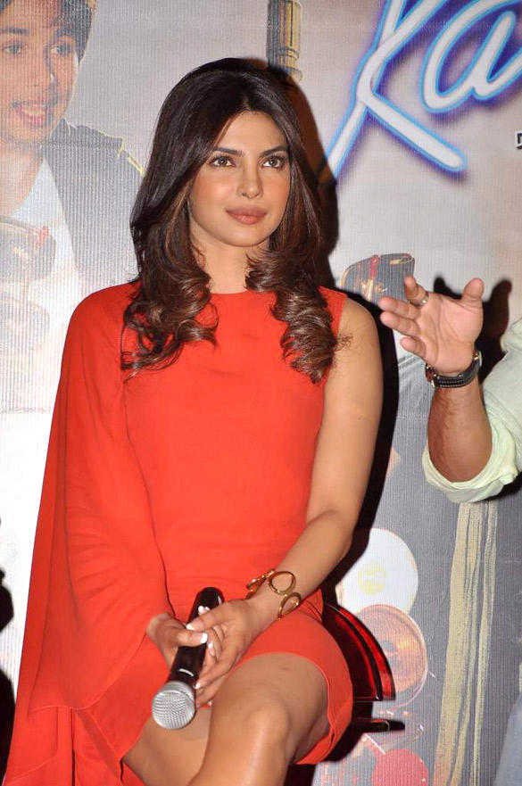 Priyanka Chopra at Teri Meri Kahani Promo Launch