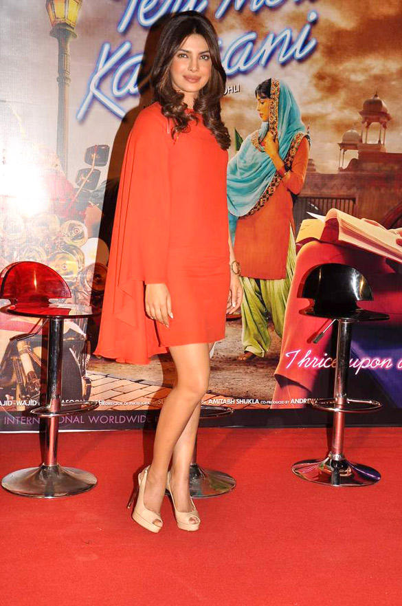 Priyanka at Teri Meri Kahani Event