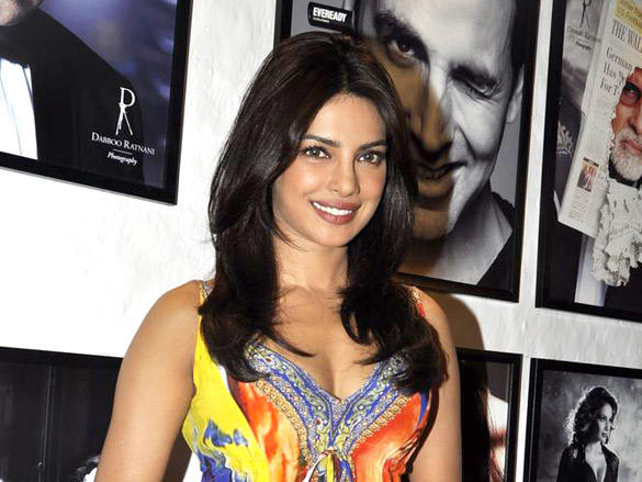 Priyanka at Dabboo Ratnani's 2012 Calendar Launch
