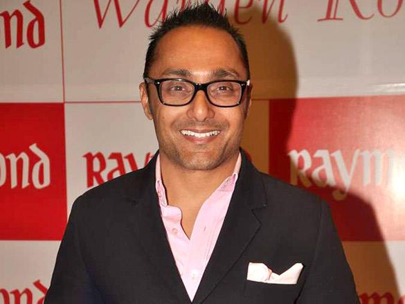 Rahul Bose at Raymonds' new store launch