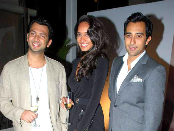 Rahul Khanna,Lisa Haydon at Moet and Chandon valentine evening