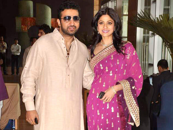 Raj Kundra,Shamita Shetty at Dheeraj Deshmukh wedding reception