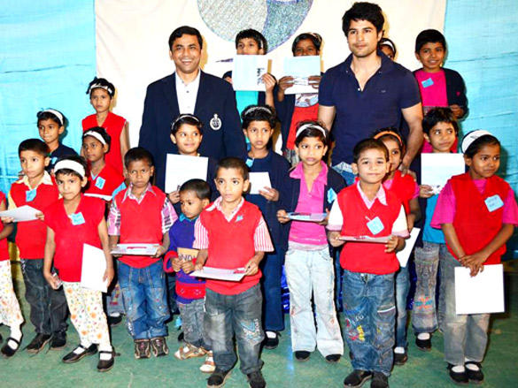Rajeev Khandelwal's with kids