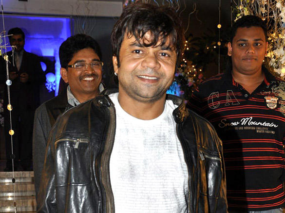 Rajpal Yadav at Sunaina Roshan's birthday party in Mumbai