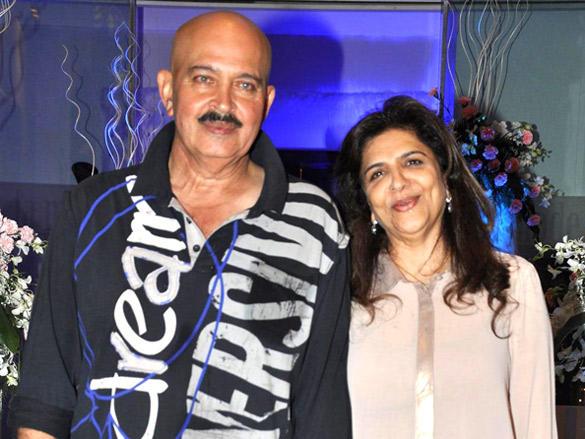 Rakesh,Pinky at Sunaina Roshan's birthday party in Mumbai