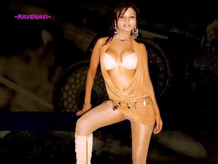 Rakhi Sawant Hot Dressing Wallpaper