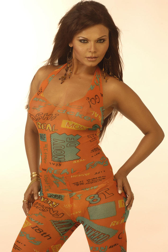 Rakhi Sawant Super Sexy Face Wallpaper
