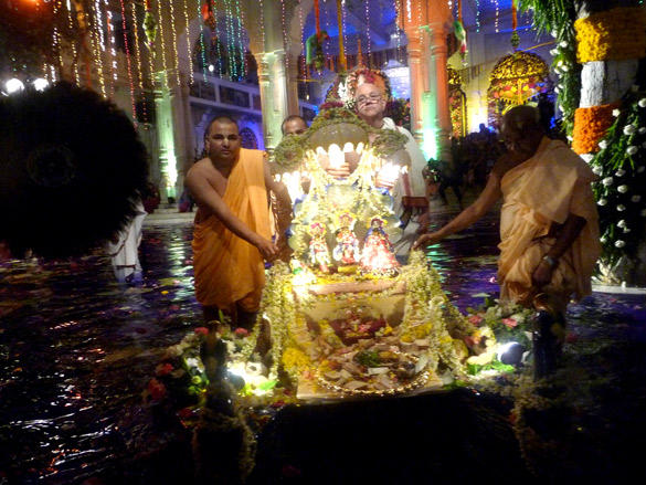 Ram Navami Celebration at Iskcon Temple
