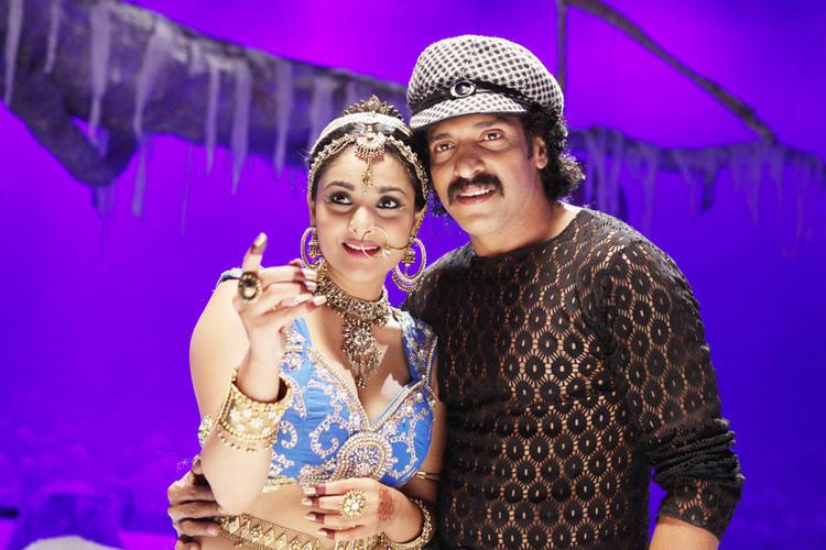 Ramya,Upendra Latest Photo In Katari Veera Surasundarangi Movie
