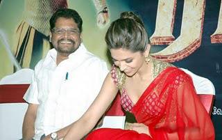 Rana Movie Launch Deepika Padukone Hot Still