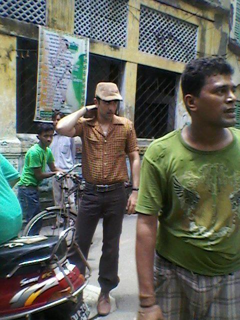 Ranbir Kapoor On Shooting Set Of Barfi