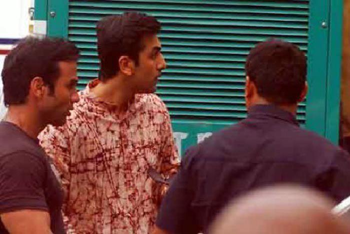 Ranbir Kapoor Side Face Still On The Set Of Barfi New Hindi Movie