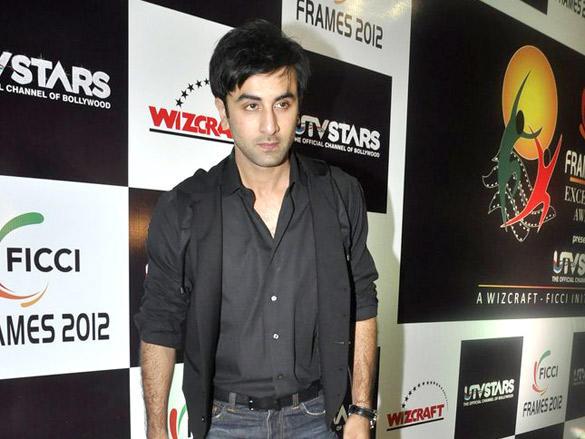 Ranbir Kapoor Snapped at FICCI Frames 2012 Awards