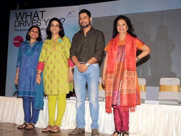 Randeep Hooda at Lavasa Women's Drive
