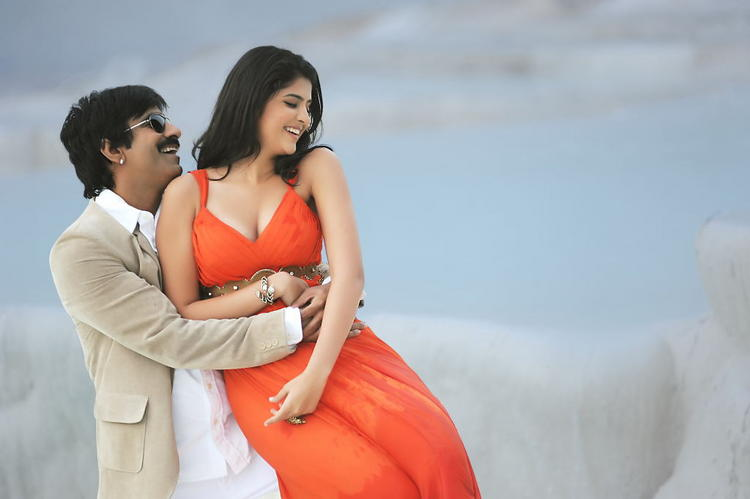 Ravi Teja and Deeksha Seth in Telugu cinema Nippu