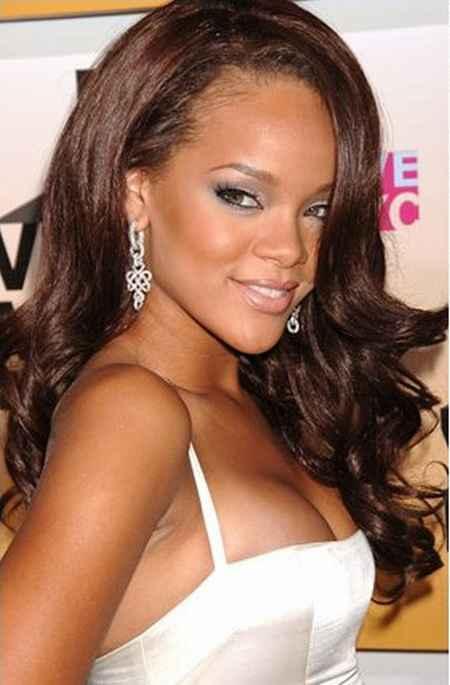 Rihanna Glamour Still