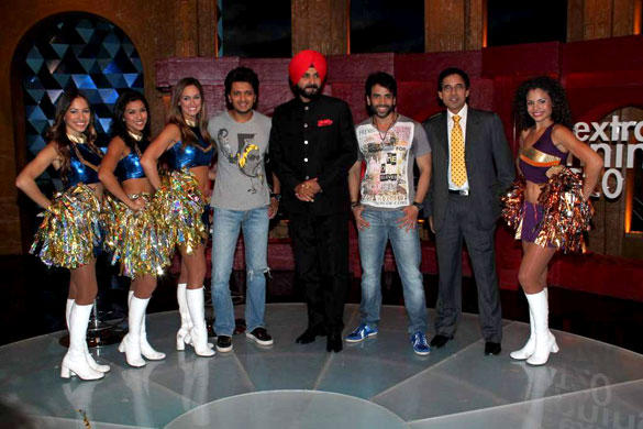 Riteish and Tusshar Promote Sony Max DLF IPL Extraa Innings With Singh Siddhu and Harsha Bhogle