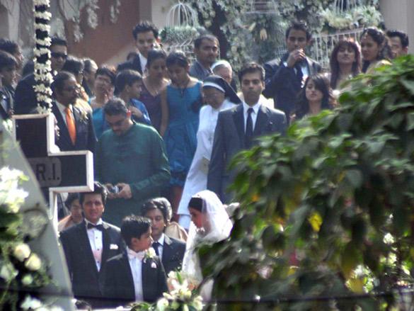 Ritesh Deshmukh and Genelia DSouza Church Wedding