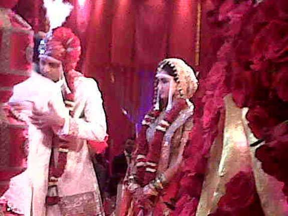 Ritesh Deshmukh at his  Wedding