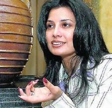 Ritu Beri Black Hair Sweet Face Look