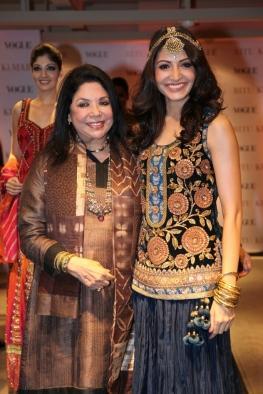 Ritu Kumar,Anushka Sharma at At Ritu Kumar's Store Launch